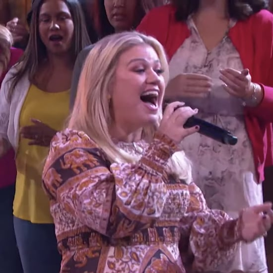"Kelly Clarkson Singing ""I Wanna Dance With Somebody"" Video"