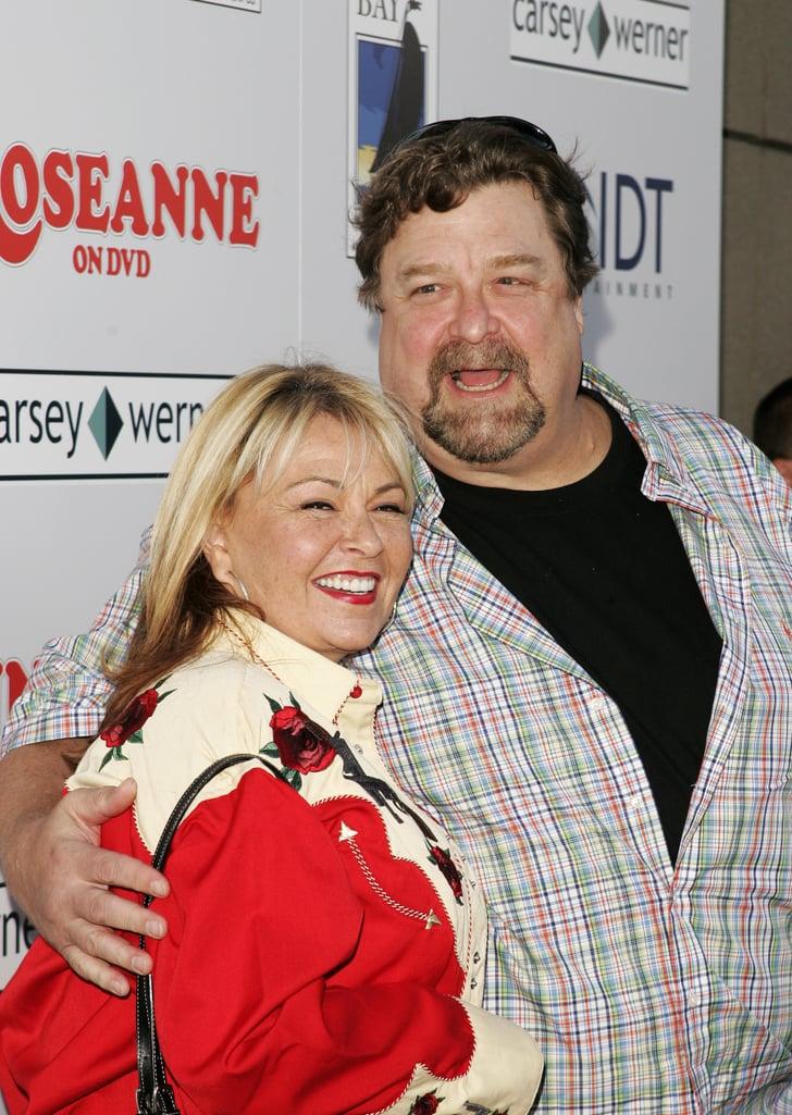 john goodman and roseanne barr dating