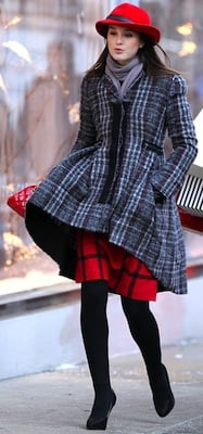 Leighton Meester as Blair Waldorf's Style in Gossip Girl