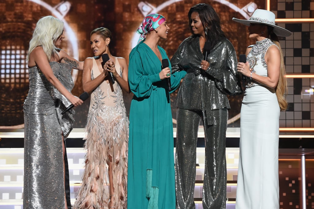 We're Calling It: Michelle Obama's Surprise Appearance Was Our Favorite Grammys Moment
