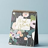 KT Smail Picturesque Florals 2018 Desk Calendar