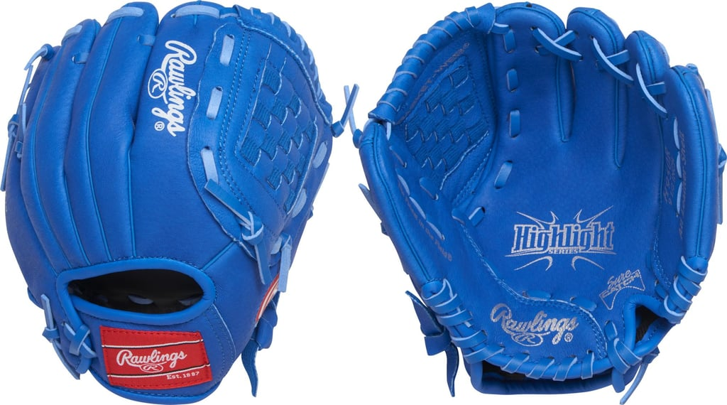 Rawlings Youth Highlight Series Left Handed T-Ball Glove