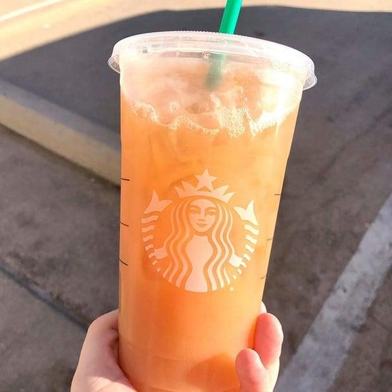 This Secret Peach Drink at Starbucks Tastes Like Candy