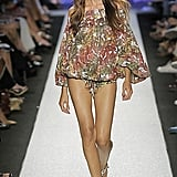 Izabel Goulart walking Spring 2009 Miss Sixty