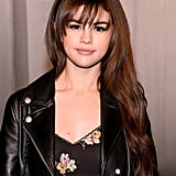 Selena Gomez's Wispy Bangs in February 2018