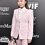 Lulu Wang at the 2020 Women in Film Female Oscar Nominees Party