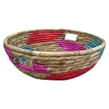 Threshold Pink Short Woven Basket