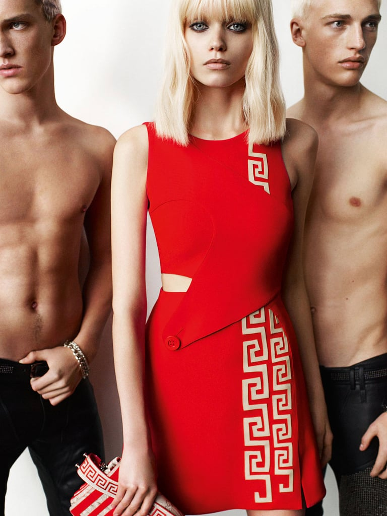 Abbey Lee Kershaw for Versace, by Mario Testino