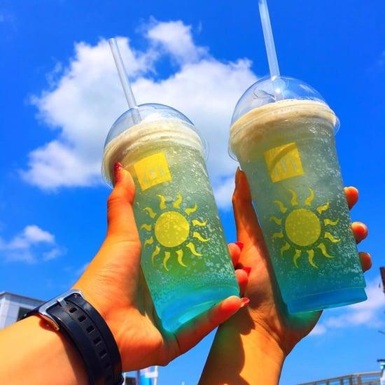 McDonald's Japan Blue Hawaii McFizz