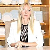Gwyneth Paltrow Shows Off Her Legs For Her Latest Book Signing