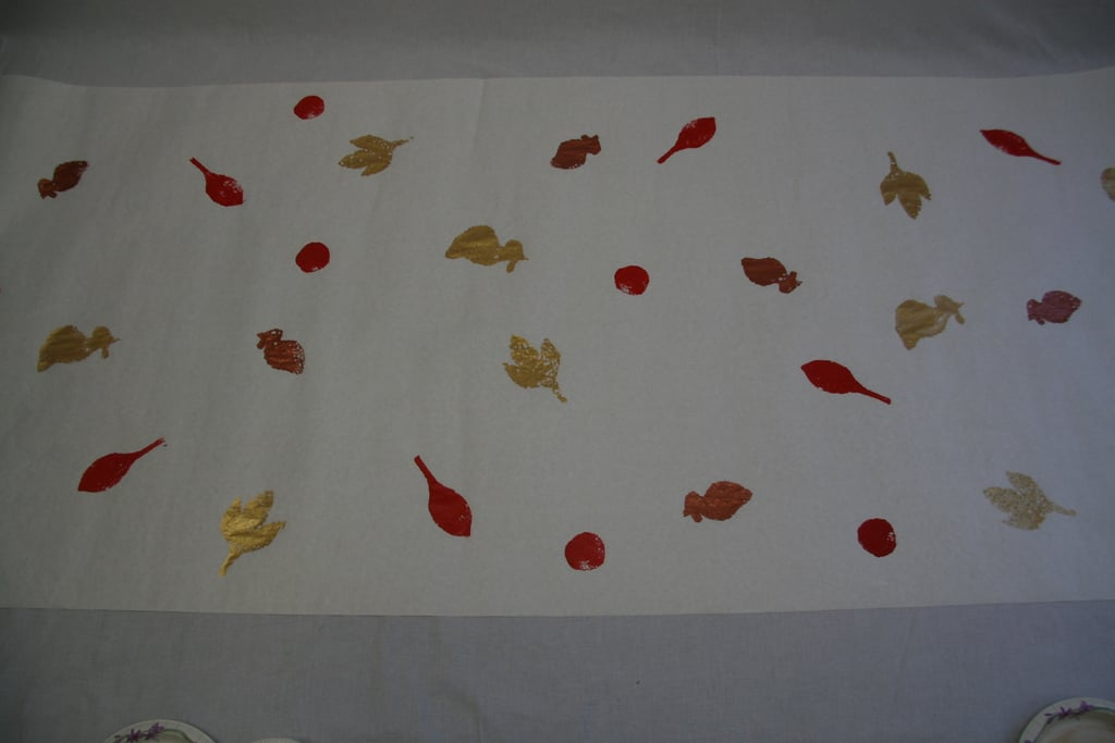 Mommy's Lil Helper: Thanksgiving Tablecloth