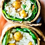 Honey Garlic Cauliflower Wraps With Chickpeas