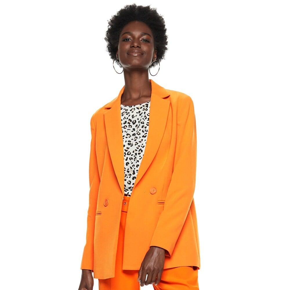 Orange Blazer