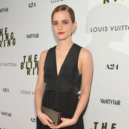 Emma Watson at The Bling Ring NYC Premiere