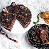 Halloween Graveyard Cookie Cake Recipe With Photos