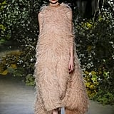 A Feather Gown on the Jason Wu Fall 2020 Runway at New York Fashion Week