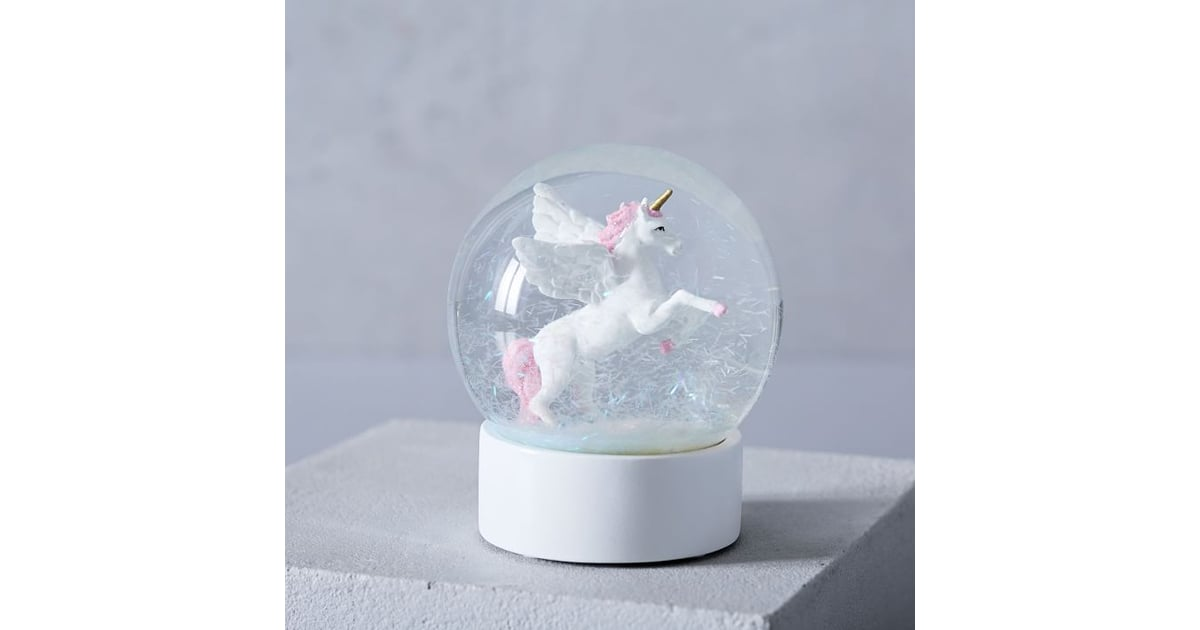 Perfect  Unicorn Snow Globe