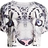 A cropped snow leopard tee (£7.99) is a great mid week pick-me-up!