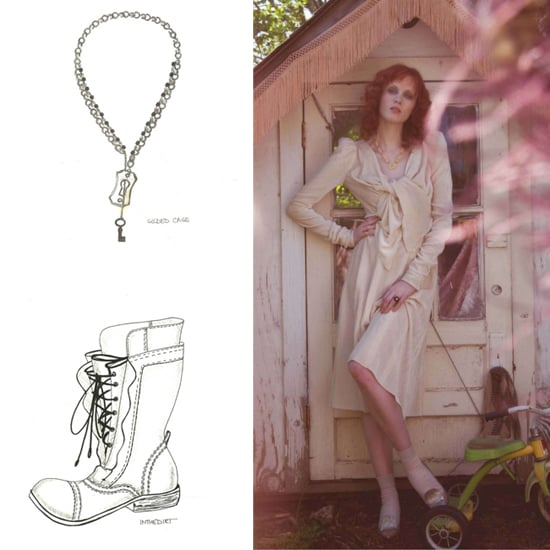 Karen Elson Designing for Nine West