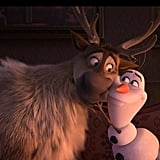Olaf is simply hilarious.
