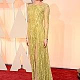 Emma Stone at the 2015 Academy Awards