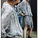 H&M gave its viewers a first look at its collaboration with Marant when it shared this photo of a dress from the collection. Source: Instagram user H&M