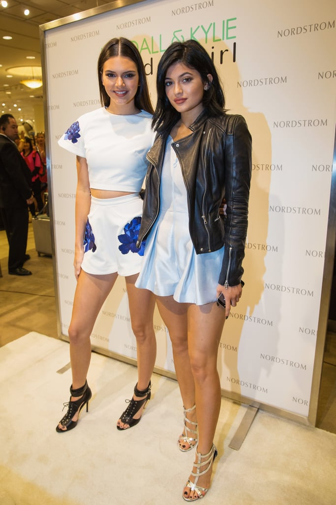 Before taking on the MTV VMAs with their sister Kim Kardashian, Kendall and Kylie Jenner had a meet-and-greet event for Madden Girl at Nordstrom in Seattle on Saturday.