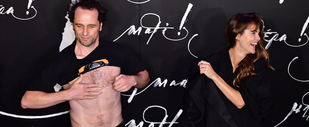 Matthew Rhys and Keri Russell at Mother NYC Premiere 2017