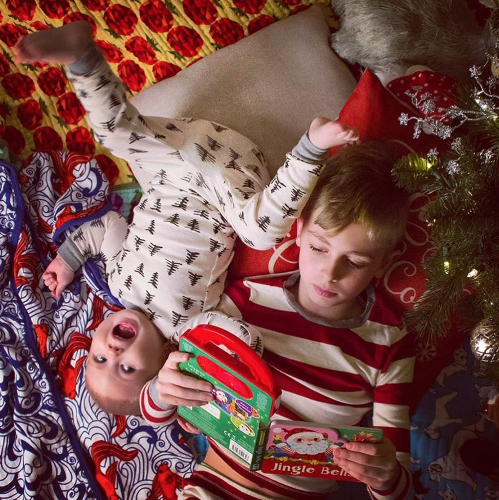 Silent Night | Funny Christmas Card Photo Fails | POPSUGAR Family ...