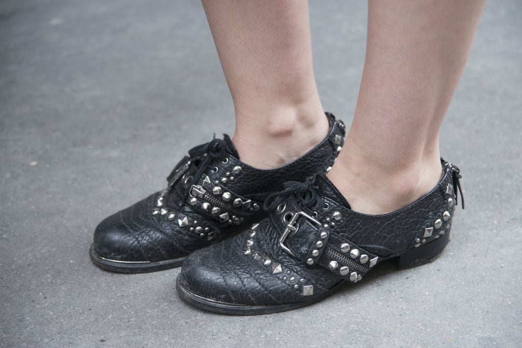 The tough girl's brogues of choice.