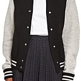 Marc Jacobs Colorblock Knit Varsity Jacket, Black/White/Multi ($595)