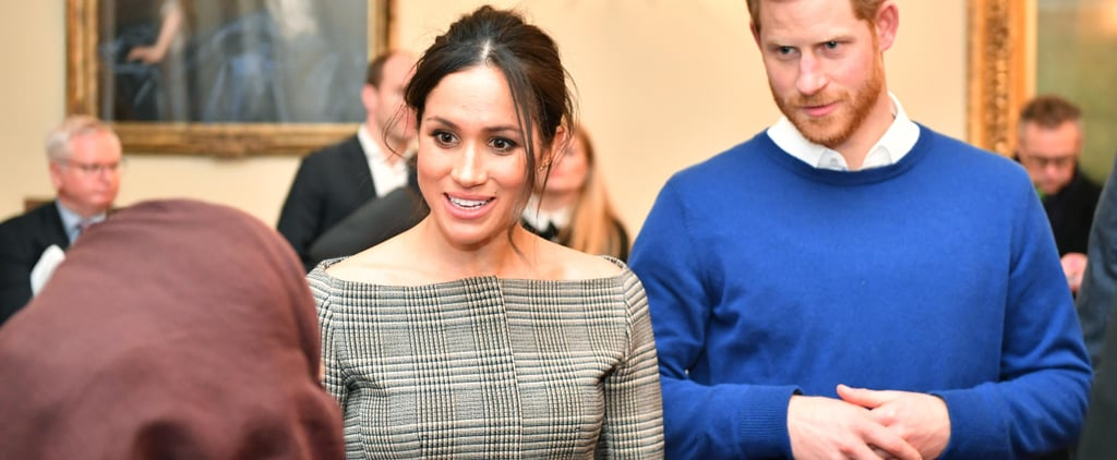 Meghan Markle's Plaid Blazer Might Be the Riskiest One Any Royal's Ever Worn