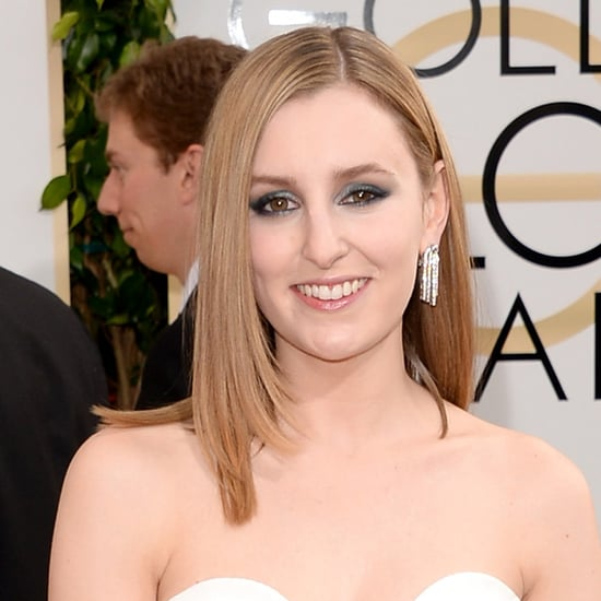 Laura Carmichael at the Golden Globes 2014