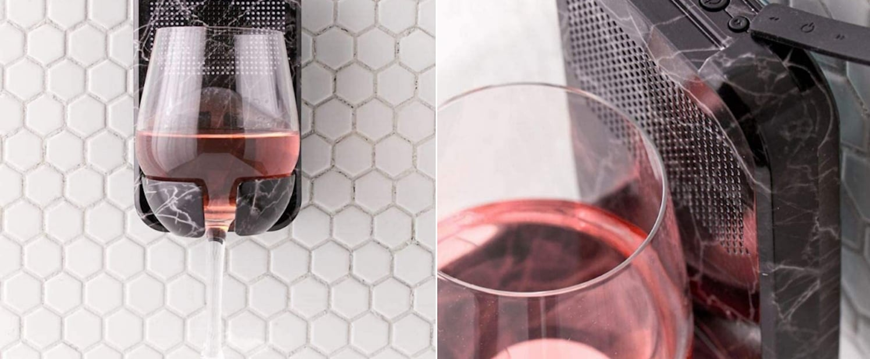 Shower Wine-Glass Holder and Speaker on Amazon | 2021