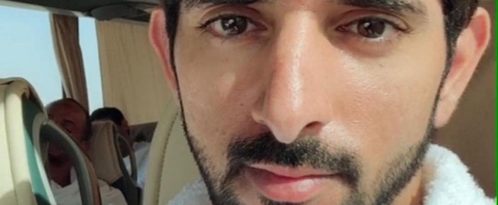 Dubai Crown Prince Sheikh Hamdan Umrah 2018
