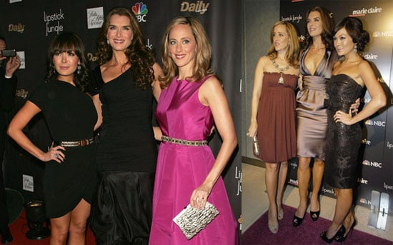 Brooke, Kim & Lindsay Make Fashion Week a Lipstick Jungle