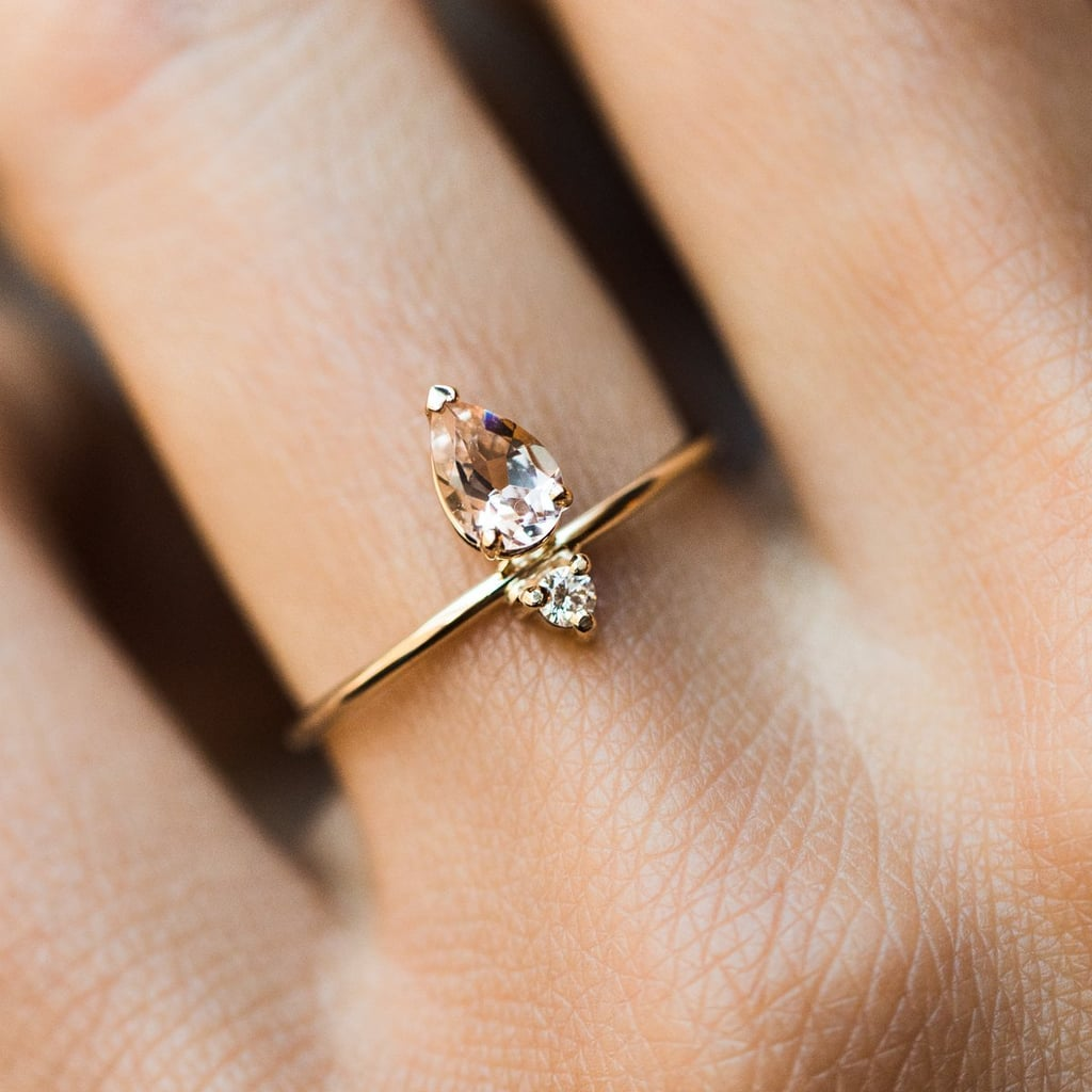 Emilia Morganite Ring