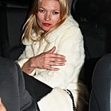Kate Moss and Jamie Hince Toast Their Engagement at a Topshop Party