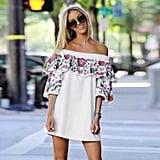 Sunmoot Off-the-Shoulder Dress