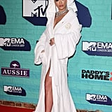 Rita Ora Dressing Gown at the MTV EMAs