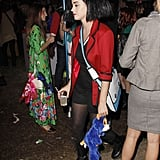 Katy Perry was at the Hollywood Forever Cemetery party.