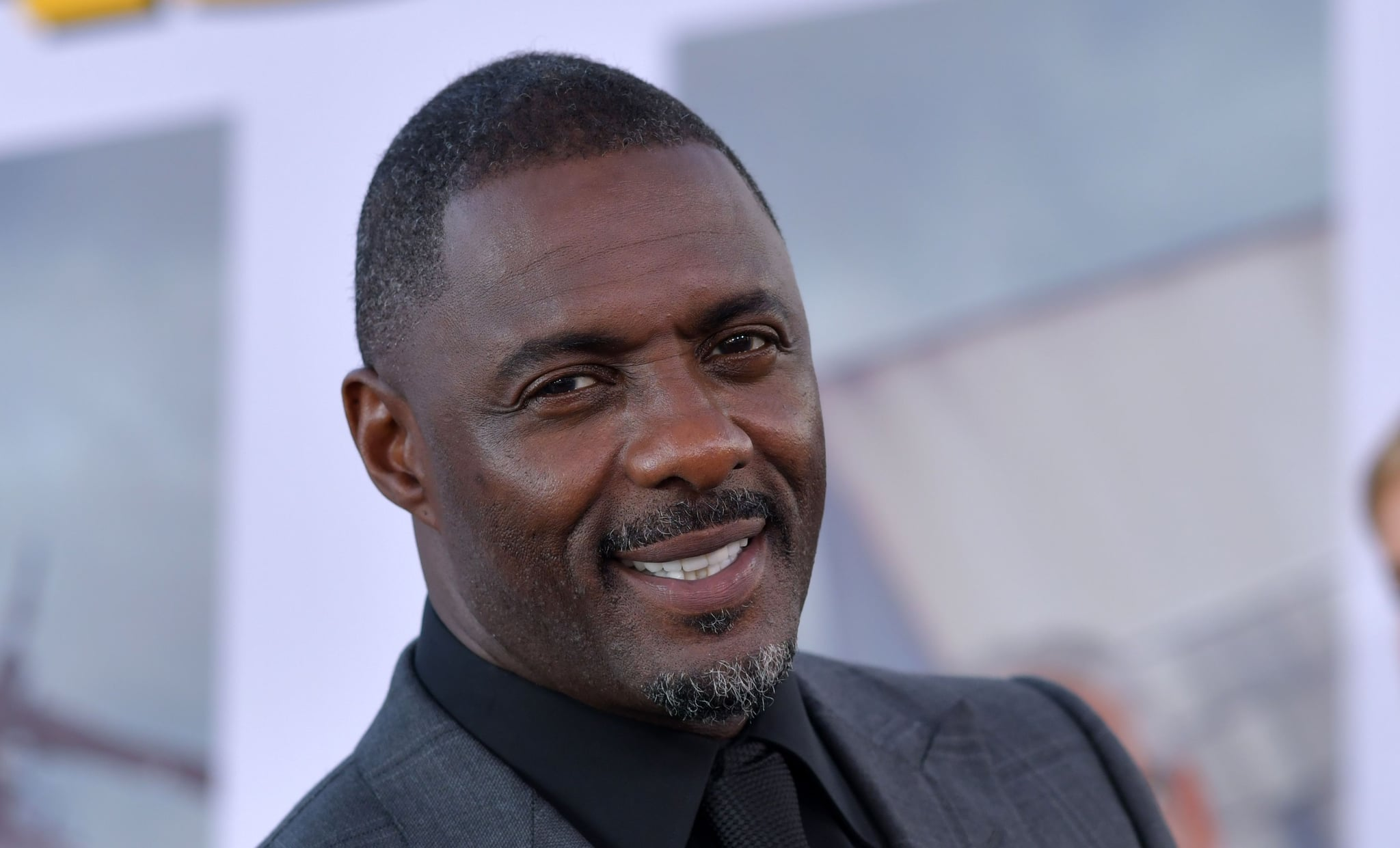 English actor Idris Elba attends the world premiere of
