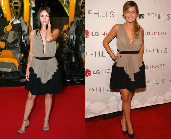 Who Wore It Better? Alexander Wang Goddess Dress