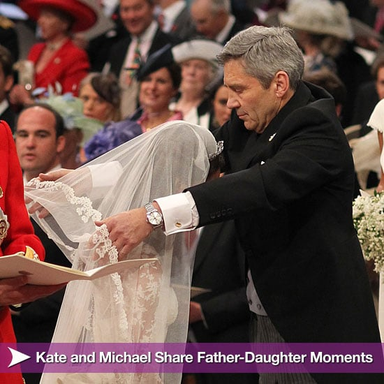 Kate Middleton and Her Dad Wedding Pictures