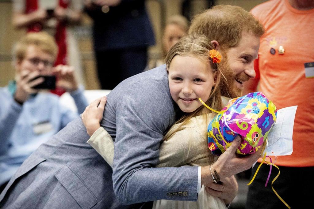 When This Little Girl Gave Him a Balloon