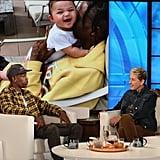 Travis Scott Talking About Kylie Giving Birth on Ellen