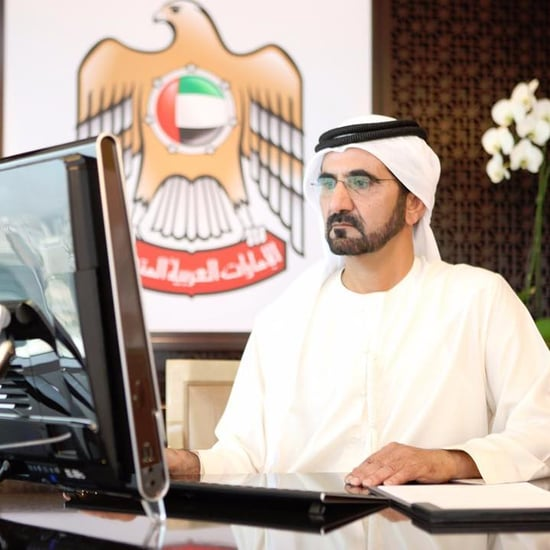 محمد بن راشد يطلق جائزة التميز الحكومي لعربي للتطوير الإداري
