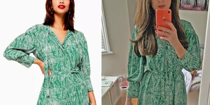 Is Topshop's Green Dress the New Zara Polka-Dot Dress? | POPSUGAR Fashion UK