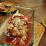 Gluten-Free Strawberry Crumble