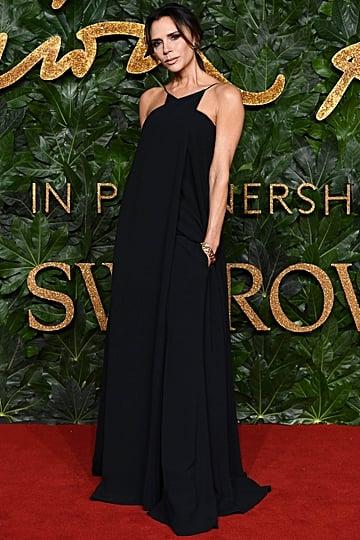 Victoria Beckham at the British Fashion Awards December 2018